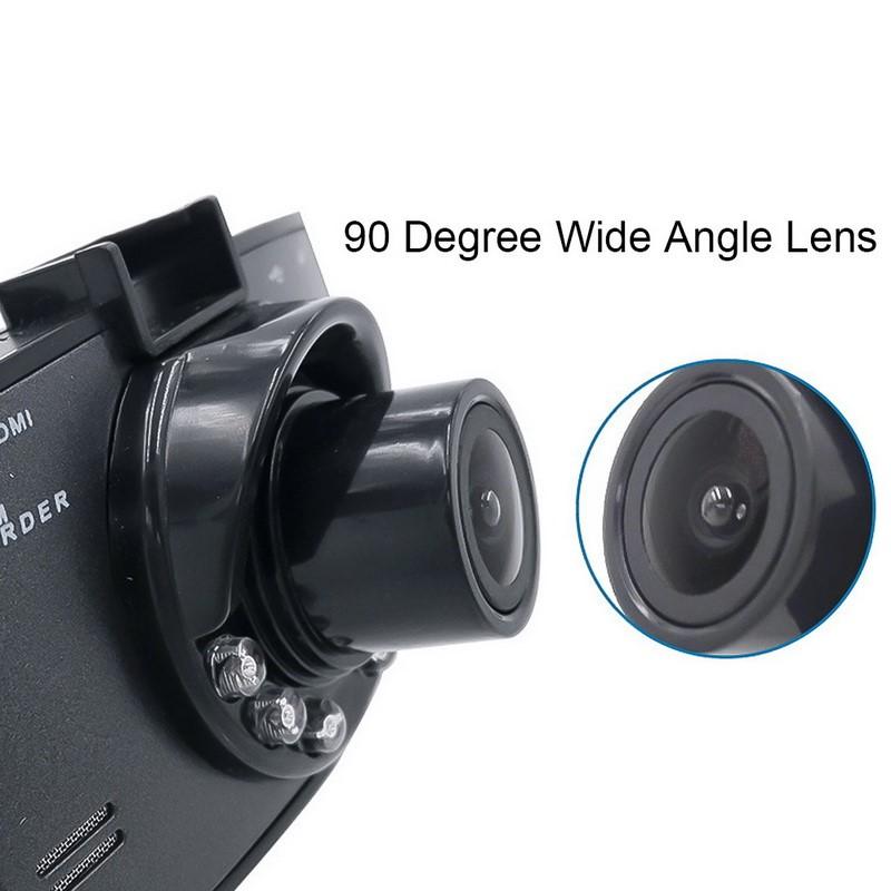 Dash cam angle lens specs
