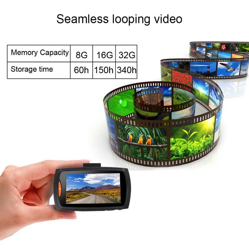 Dash cam memory/storage